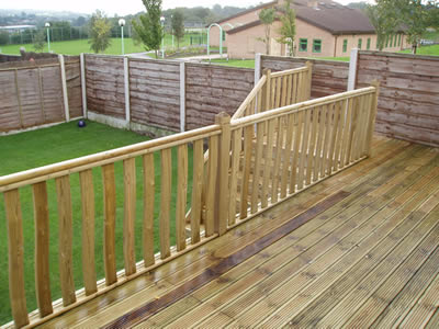 We are experts in decking construction and design